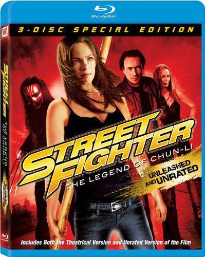 Street Fighter:The Legend Bluray