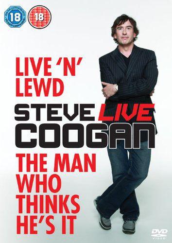 Steve Coogan: Live 'n' Lewd Cover